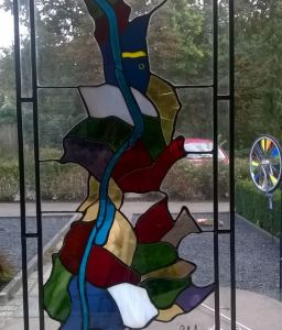 Provincie Limburg In Tiffany En Glas In Lood Rand
